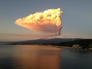 Eruption de l'Etna (photo : meteoweb.eu)