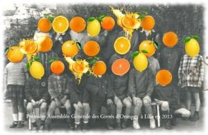 Première Assemblée générale des Givrés d'Oranges! en 2013